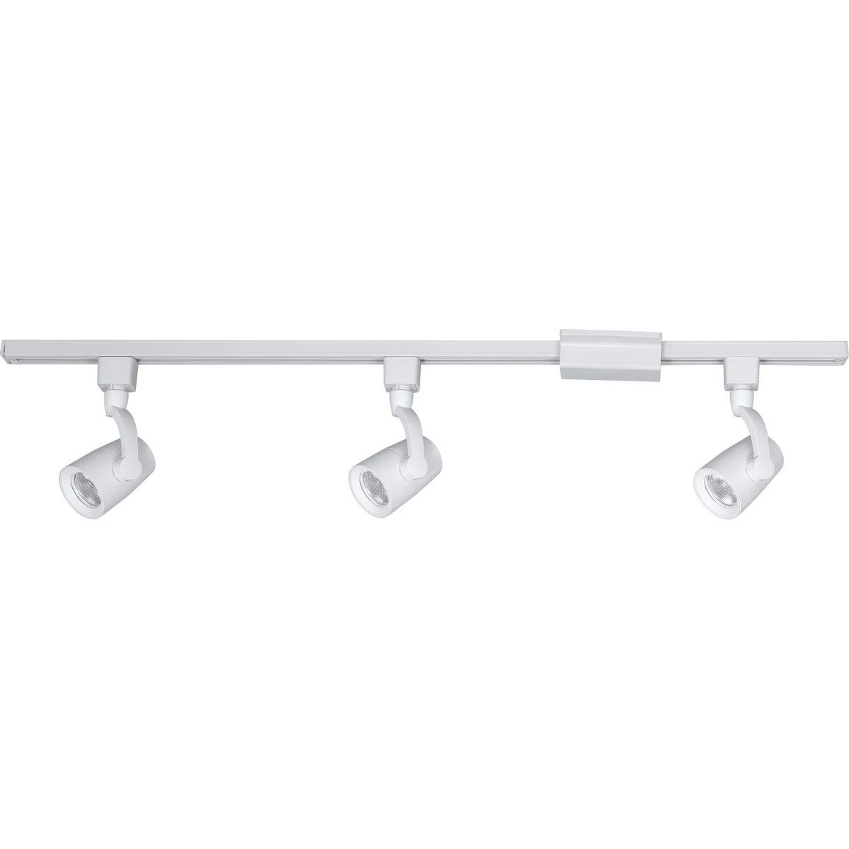 Progress Lighting P900008-028-27 LED Three-Light Track Kit, White