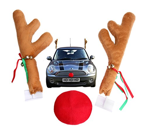 Car Accessory Reindeer Kit / Car Costume Christmas