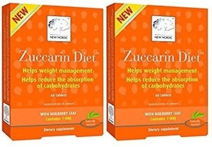 New Nordic Zuccarin Diet with Mulberry Leaves Dietary Supplement (60 Tablets) (2 -