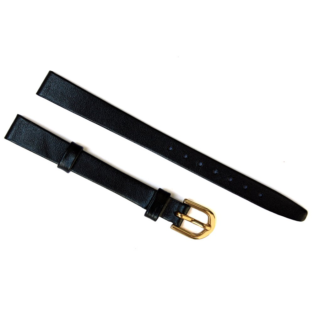 Leather Calf Stitch-Free Non Padded Watch Strap 8 Millimeters by Aspen Express (Image #2)
