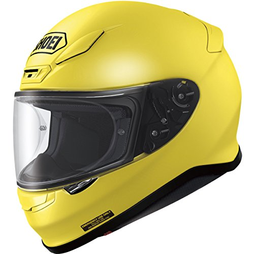 Shoei RF-1200 Brilliant Yellow Full Face Helmet - Medium