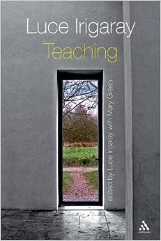 Book Luce Irigaray: Teaching (2008-09-18)