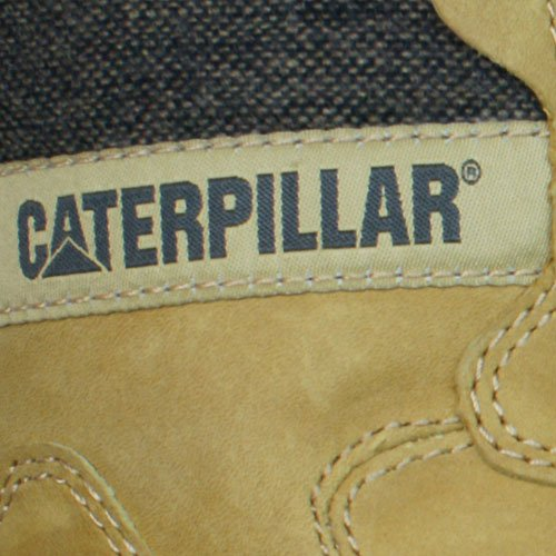 Caterpillar Stiction Hi Ice Mens Leather Waterproof Boots Brown xH01ujW