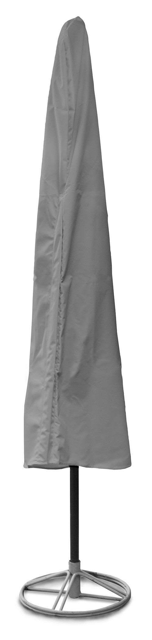 KoverRoos Weathermax 84282 11-Feet Umbrella Cover, 88-Inch Height by 48-Inch Circumference, Charcoal by KOVERROOS