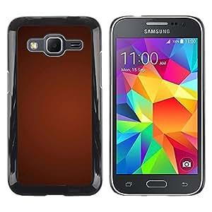 Smartphone Rígido Protección única Imagen Carcasa Funda Tapa Skin Case Para Samsung Galaxy Core Prime SM-G360 Texture Gradient Red / STRONG