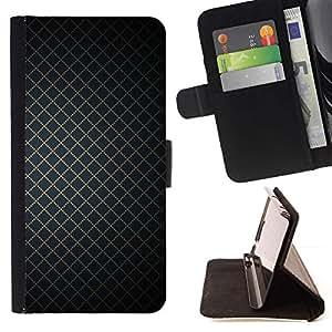Momo Phone Case / Flip Funda de Cuero Case Cover - Wallpaper geométrica Square dise?o simple - HTC DESIRE 816