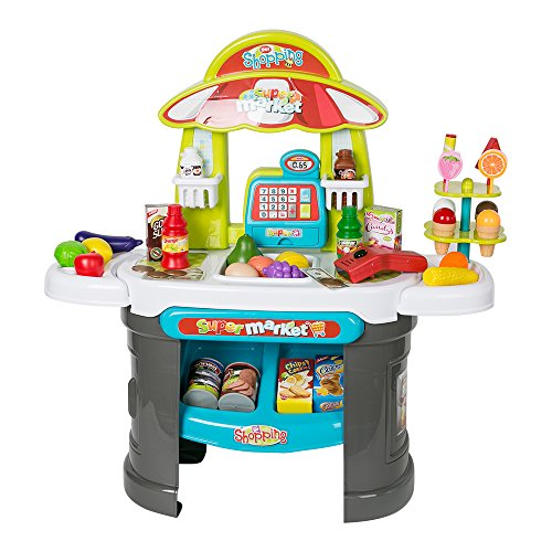 COLOR TREE Luxury Supermarket Grocery Store Playset for Kids ... ()