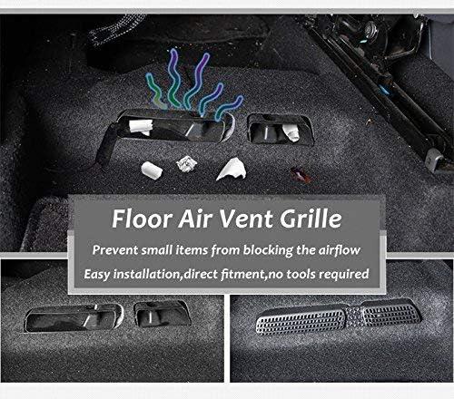 LFOTPP Auto Air Vent copertura per Q2 sedile posteriore climatizzatore Outlet Cover 2 pezzi