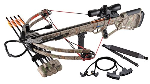 Leader Accessories Crossbow Package 150lbs 325fps Archery...
