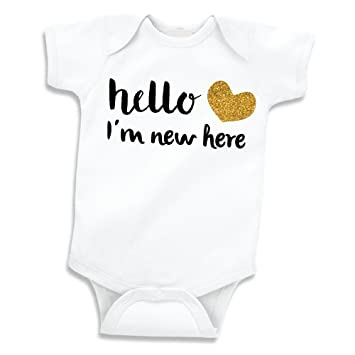 68c4ad0573727 Image Unavailable. Image not available for. Color: Baby Girl Clothes, Newborn  Hospital Coming Home ...