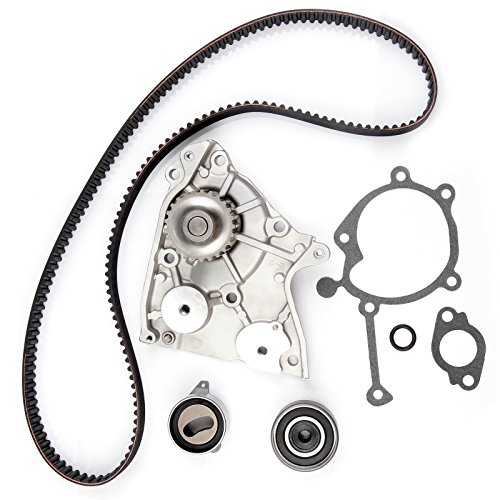 SCITOO Timing Belt Water Pump Gasket Tensioner Kit Fit 1995-2002 2.0L Kia Sportage DOHC 16V - Kia Sportage Transfer