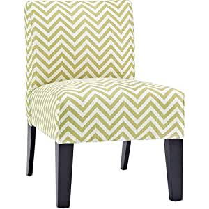 Allegro Ziggi Upholstered Accent Chair Citron Living Room Furniture House