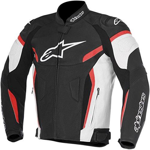 Alpinestars GP Plus R Airflow V2 Men's Street Motorcycle Jackets - Black/White/Red / 56