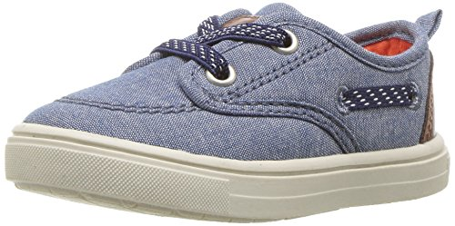 Pictures of Carter's Blaze Boy's Casual Boat Shoe, Navy, 5 M US Toddler 1