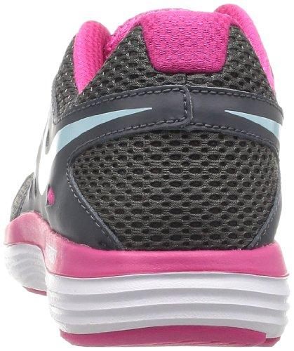 NIKE Dual Fusion Lite - Zapatillas de correr de tela mujer gris - Grau (Drk Grey/Glcr Ic-Vvd Pnk-White)