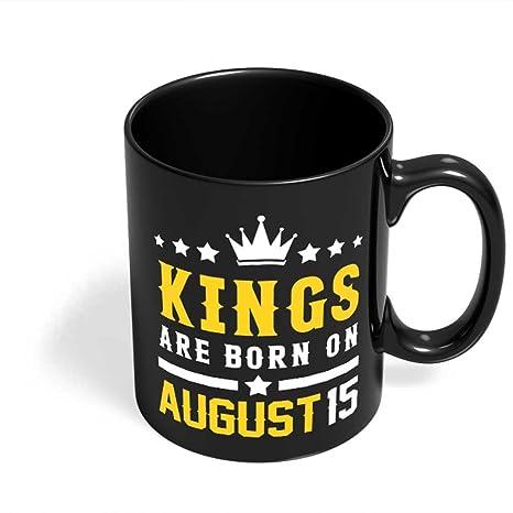 Amazon.com: Cumpleaños tazas Hombres Regalos | Kings nacen ...