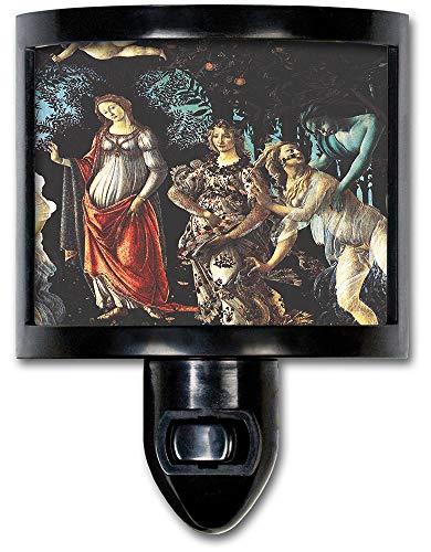 (Art Plates NL-581 Botticelli: Primavera Night Light)
