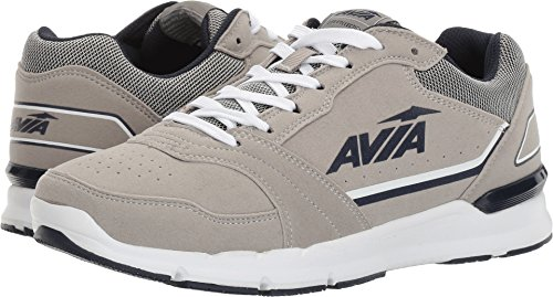 AVIA Men's ALC-Forum Sneaker, Iron Grey/Blue/Black, 10 M - Men Fashion Forum