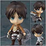 Anime toys hand to do Q version clay Attack on Titan 375 # Alan Yeager