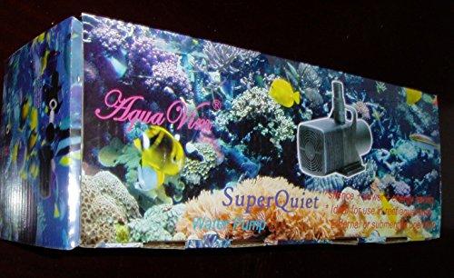 Aqua Vim Super Quiet Water Pump for Aquarium, 2000 GPH by AquaVim