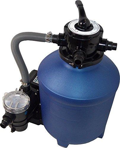 SPIRATO Splash 380Filtro de Arena, Color Azul/Negro