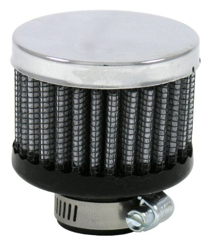 S&B Clamp-On Crankcase Vent Filter, 1.38