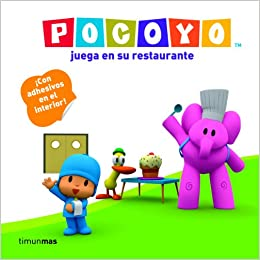 Pocoyo juega en su restaurante / Pocoyo plays in his ...