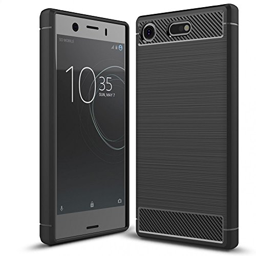 Sony Xperia XZ1 Compact Silicone Case by NALIA, Ultra-Thin Protective Phone Cover...