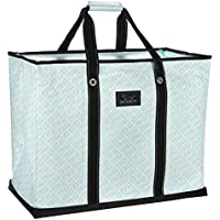 SCOUT 4 Boys Bag, Extra Large, Durable All Purpose Foldable Utility Tote, Folds Flat, Water Resistant, Zips Closed, Aqua Fresca