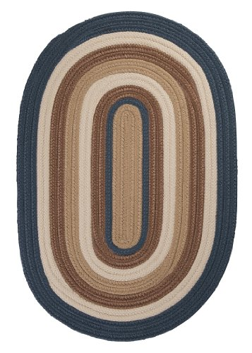Colonial Mills BN59R024X132 Brooklyn Runner Rug, 2x11, Blue Haze made in New England
