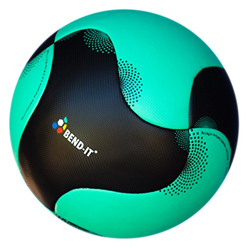 Bend-It Soccer Balls with VPM and VRC Technology, Size 5 - Reverse-Curl-It Pro, Thermal Welded