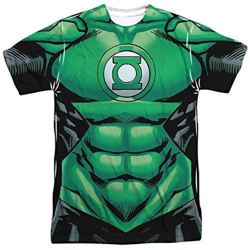 New Green Lantern Costumes Tshirt (Green Lantern- Uniform Costume Tee T-Shirt Size L)