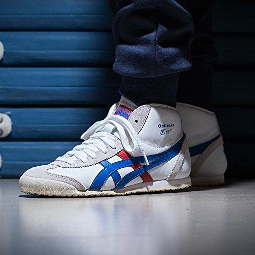 Weiß Onitsuka Sneaker Tiger Rot Blau Herren fvHaSwnvqW