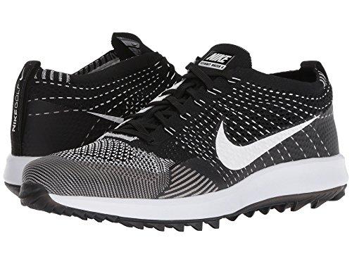 [NIKE(ナイキ)] メンズランニングシューズ?スニーカー?靴 Flyknit Racer G Black/White 11 (29cm) D - Medium