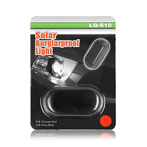 Sistema de Seguridad con luz LED Intermitente para Coche TiooDre