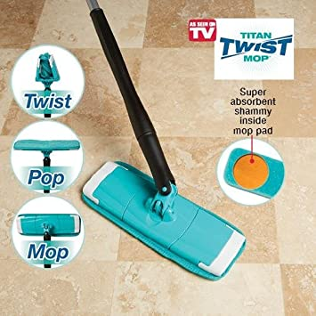 Amazon Titan Twist Mop Health Personal Care