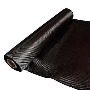 """Real Carbon Fiber Epoxy Resin Kit - 2x2 Twill 36"""" x 6"""""""