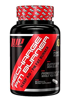 1UP Nutrition - Recharge PM Burner, Sleep Aid and PM Fat Burner (60 Count)