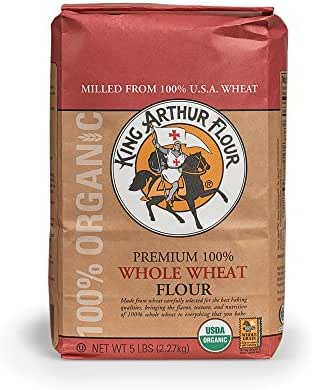 Flours & Meals: King Arthur Organic Whole Wheat Flour