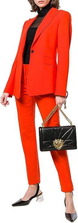 Dolce E Gabbana Mujer Bb6651av96780999 Negro Cuero Bolso De