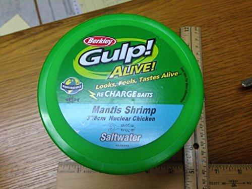 """Fishing Bait: 3"""" Mantis Shrip Nuclear Chicken Saltwater Bucket 12117"""