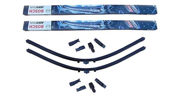 Bosch Aerotwin Plus - Limpiaparabrisas Clase C W204 + Limpiador de cristal Wurth: Amazon.es: Coche y moto