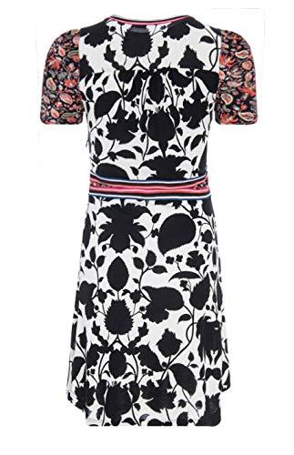 Bianco Nero Celestino DESIGUAL Vestito 18swvk50 Donna 6Ewq0g