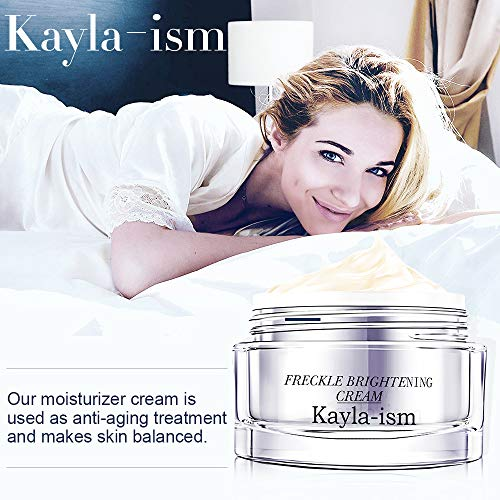 Kayla-Ism Face Cream | Anti Wrinkle Anti Aging Daily | Lighten & Fade Freckles in 28 days | Moisturizer Cream with Jasmine Essence | Retinol Cream | Firming Skin Care | Facial Moisturizer Night Cream
