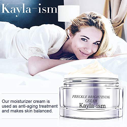 5109lFe4GpL - Kayla-Ism Face Cream | Anti Wrinkle Anti Aging Daily | Lighten & Fade Freckles in 28 days | Moisturizer Cream with Jasmine Essence | Retinol Cream | Firming Skin Care | Facial Moisturizer Night Cream