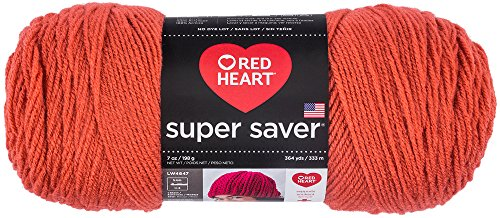 Red Heart Super Saver Yarn, Coral