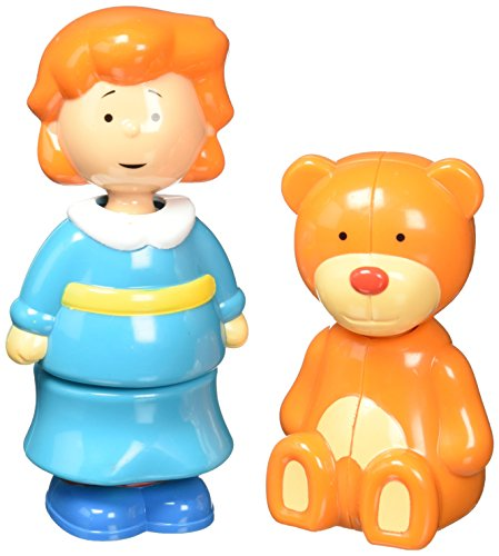 Caillou Collectible Figures - Rosie and Teddy