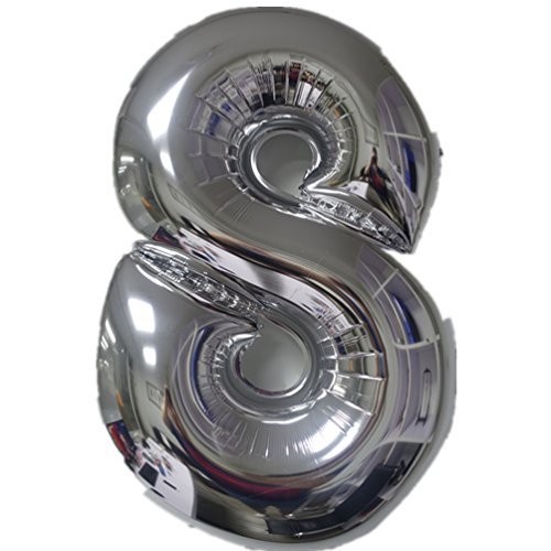 colortree-silver-helium-number-balloons-40-inch-numbers-0-9-foil-digital-birthday-party-balloons-new