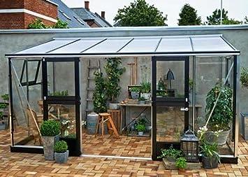 Invernadero de cristal templado Veranda 12, 9 M²: Amazon.es ...