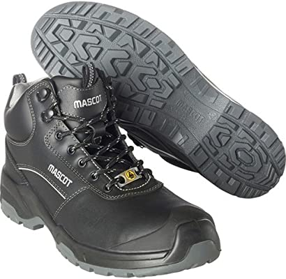 746517e58d6 Mascot F0128-775-09-1045 Protective Safety Shoes, Black, 45: Amazon ...